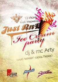 JUST RNB ICE CREAM PARTY!!!